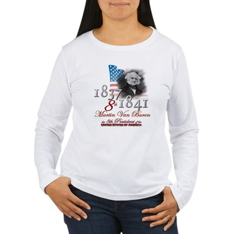 8th President - Women's Long Sleeve T-Shirt