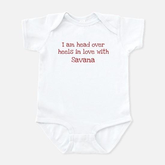 In Love with Savana Infant Bodysuit