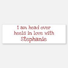In Love with Stephanie Bumper Bumper Bumper Sticker
