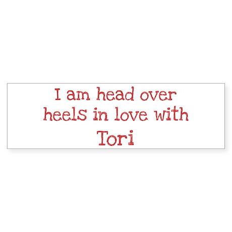 In Love with Tori Bumper Sticker