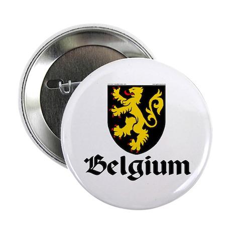 """Belgium: Heraldic 2.25"""" Button (100 pack)"""
