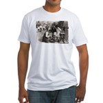 New York Shoe Shine Fitted T-Shirt