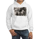New York Shoe Shine Hooded Sweatshirt