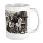 New York Shoe Shine Large Mug