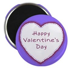 Homemade Look Valentine Magnet