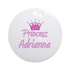 Princess Adrianna Ornament (Round)