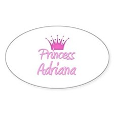 Princess Adriana Oval Decal