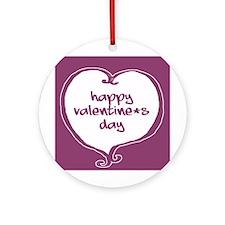 Funky Valentine Token (Round)