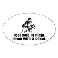 Feel Safe with a Boxer Oval Decal