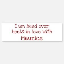 In Love with Maurice Bumper Bumper Bumper Sticker