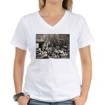 Orchard & Riverton N.Y. Women's V-Neck T-Shirt