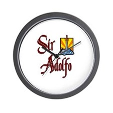 Sir Adolfo Wall Clock