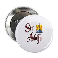 "Sir Adolfo 2.25"" Button"