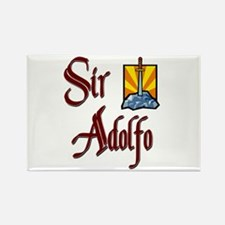 Sir Adolfo Rectangle Magnet