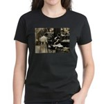 Mott Street Italian Shop Women's Dark T-Shirt