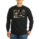 Mott Street Italian Shop Long Sleeve Dark T-Shirt