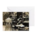 Mott Street Italian Shop Greeting Cards (Pk of 10)