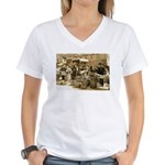 Indianapolis Market Women's V-Neck T-Shirt