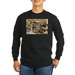 Indianapolis Market Long Sleeve Dark T-Shirt