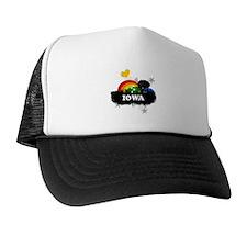 Sweet Fruity Iowa Trucker Hat