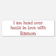 In Love with Ramon Bumper Bumper Bumper Sticker