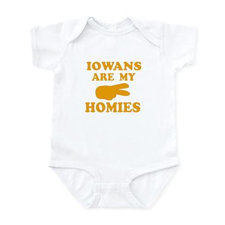 Iowans are my homies Infant Bodysuit