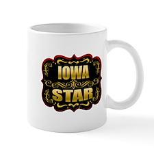 Iowa Star Gold Badge Seal Mug