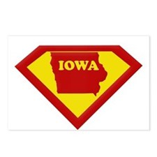 Super Star Iowa Postcards (Package of 8)
