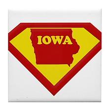 Super Star Iowa Tile Coaster