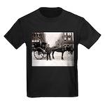 New York Hansom Driver Kids Dark T-Shirt