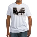 New York Hansom Driver Fitted T-Shirt