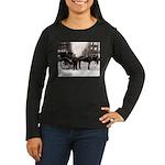 New York Hansom Driver Women's Long Sleeve Dark T-