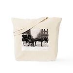 New York Hansom Driver Tote Bag