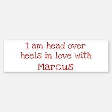 In Love with Marcus Bumper Bumper Bumper Sticker