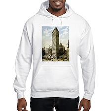 Flatiron Building New York Hoodie