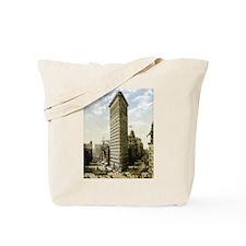 Flatiron Building New York Tote Bag