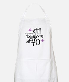 Still Fabulous at 40 BBQ Apron