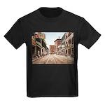 St. Charles St. New Orleans Kids Dark T-Shirt