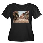 St. Charles St. New Orleans Women's Plus Size Scoo