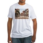 St. Charles St. New Orleans Fitted T-Shirt
