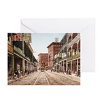 St. Charles St. New Orleans Greeting Cards (Pk of