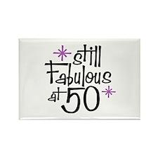 Still Fabulous at 50 Rectangle Magnet