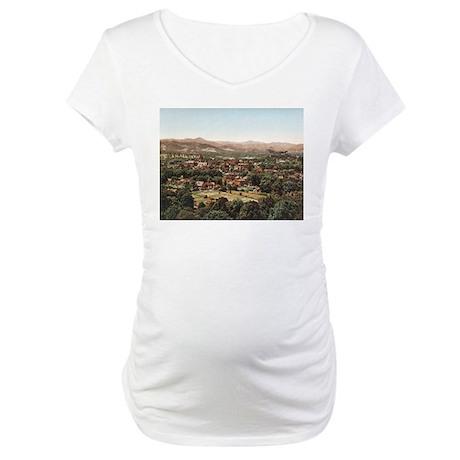 Ashville North Carolina' Maternity T-Shirt