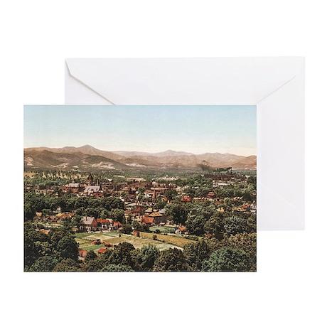 Ashville North Carolina' Greeting Cards (Pk of 10)