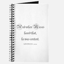 LEVITICUS 10:20 Journal