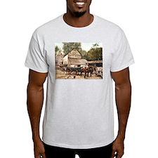 Farmyard Scene USA 1900 T-Shirt