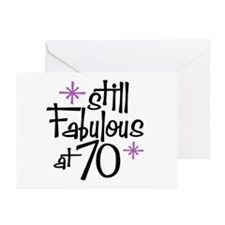 Still Fabulous at 70 Greeting Cards (Pk of 10)