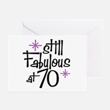 Still Fabulous at 70 Greeting Cards (Pk of 10)