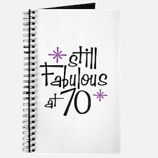 Still Fabulous at 70 Journal