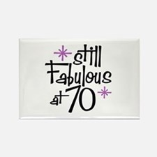 Still Fabulous at 70 Rectangle Magnet